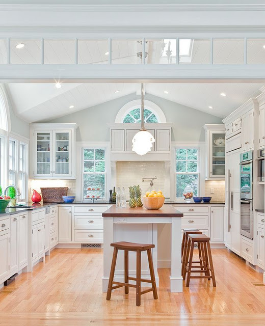 Kitchen Lighting Vaulted Ceiling: Painted Vaulted Ceilings: What Colour Works Best?