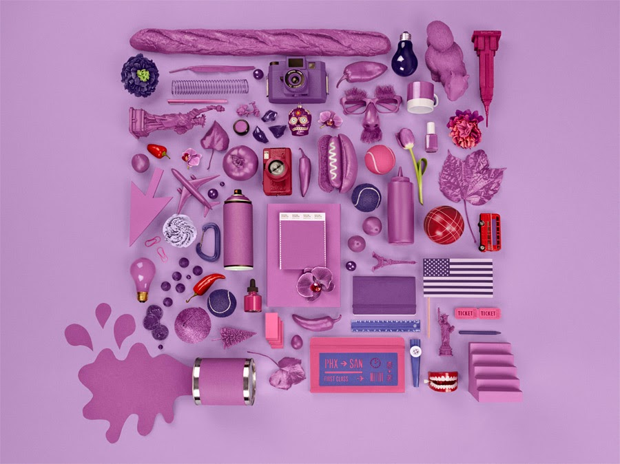 Colour of The Year: Pantone's Radiant Orchid